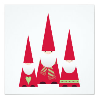 Simple Christmas Card feat. X-mas Elves (white)