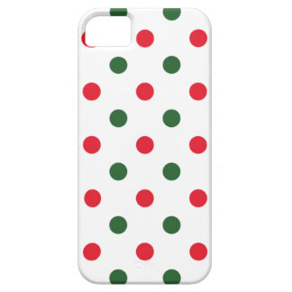 Simple Christmas Dots iPhone SE/5/5s Case