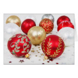 SImple Christmas, Vintage Ornaments Cards