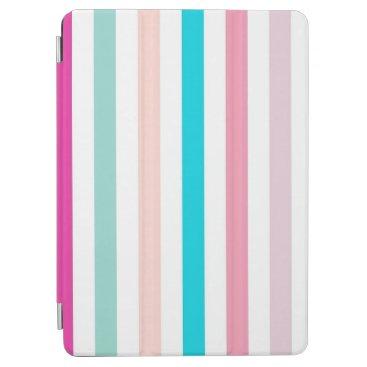 Simple Classic Retro Colorful Lines iPad Air Case