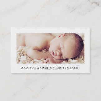 Simple & Clean 2 | Photography Business Cards