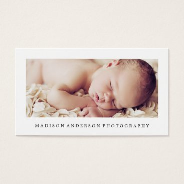 Professional Business Simple & Clean 2 | Photography Business Cards