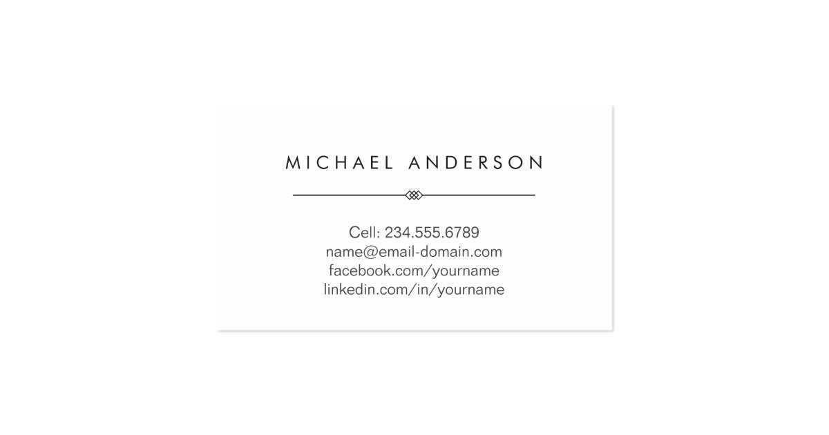 Simple clean black and white law school student business for Law school business cards