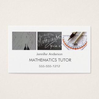 tutoring business cards