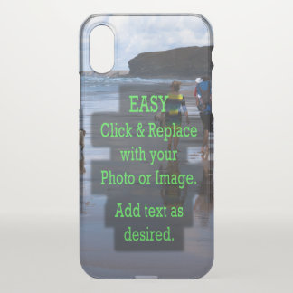 Simple Click and Replace Image to Make Your Own iPhone X Case