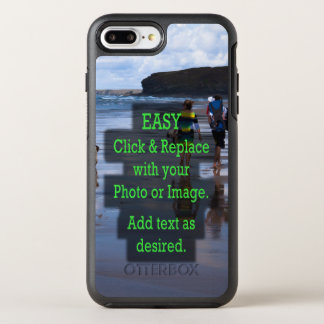 Simple Click and Replace Photo to Create Your Own OtterBox Symmetry iPhone 8 Plus/7 Plus Case