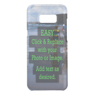 Simple Click and Replace Photo to Make Your Own Uncommon Samsung Galaxy S8+ Case
