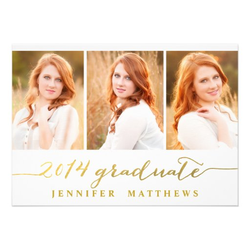 Simple Collage | Graduation Party Invitation