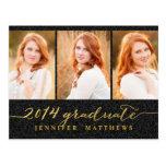 Simple Collage | Graduation Party Invitation Postcard
