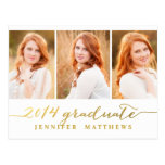Simple Collage | Graduation Party Invitation Post Card