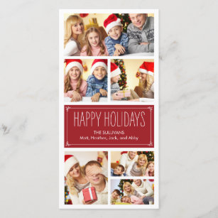 simple holiday cards custom holiday cards zazzle