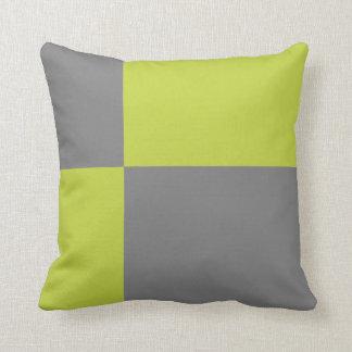 Simple Color Blocks Throw Pillow