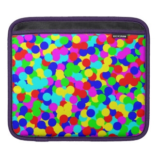 Simple Colorful Fun Dot Design Sleeve For iPads