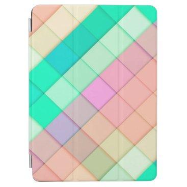 Simple Colorful Pastel Tiles   iPad Air Case