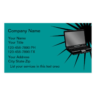 Simple Computers Business Cards