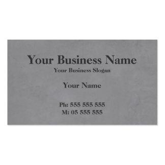 Simple Concreting Business Card