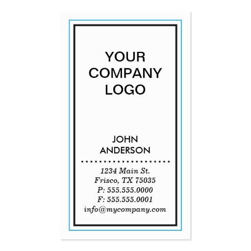Simple Contemporary Business Card