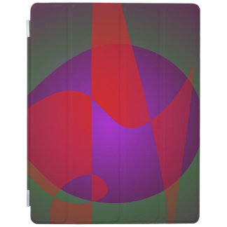 Simple Contrast Abstract Composition iPad Cover