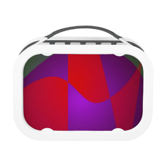 Simple Contrast Abstract Composition Lunch Boxes