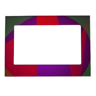 Simple Contrast Abstract Composition Magnetic Frames