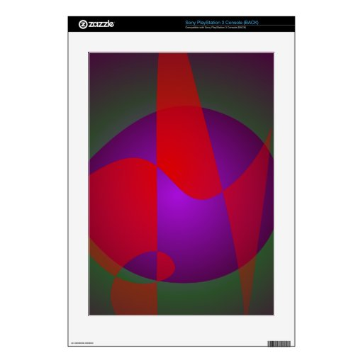 Simple Contrast Abstract Composition PS3 Decals