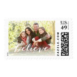 Simple crea el día de fiesta de la foto que saluda sellos