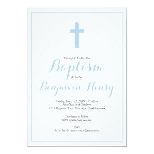 boy baptism christening invitations zazzle