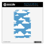 Simple Cumulus Clouds Decals For iPod Touch 4G