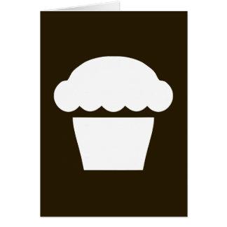 simple cupcake / muffin card