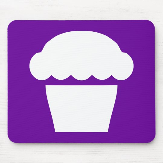 simple cupcake / muffin mouse pad