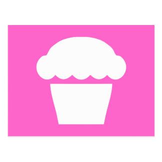 simple cupcake postcard