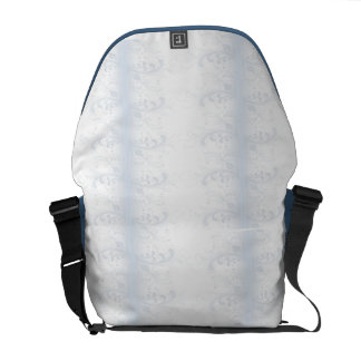 Simple Curls Messenger Bag