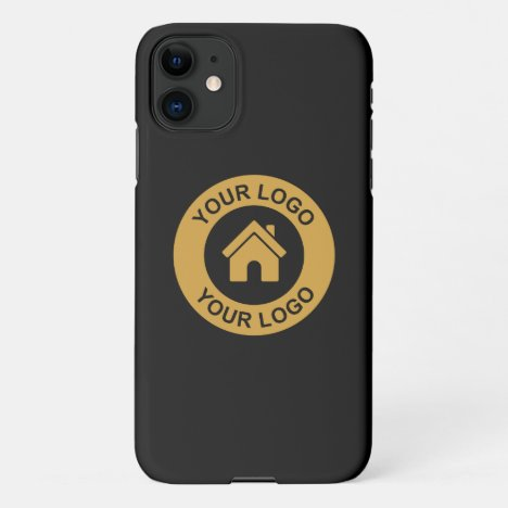 Simple Custom Business Logo iPhone 11 Case