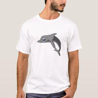 Simple Cute Cartoon Dolphin Kawaii T-Shirt