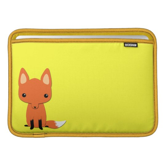 Simple Cute fox MacBook Air Sleeve
