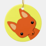 Simple Cute fox Ornament