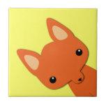 Simple Cute fox Tiles