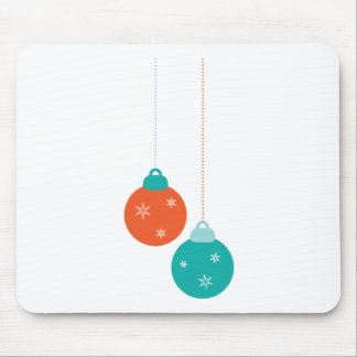 Simple Cute Ornament For The Holidays Mouse Pad