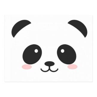 Simple Cute Panda Postcard
