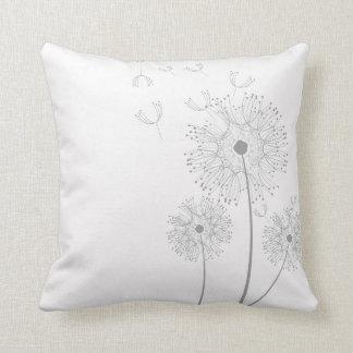 Simple Dandelion Seeds Blowing Pillow