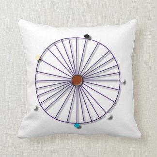 Simple Deities Throw Pillow