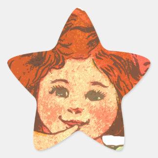 Simple Delights Star Sticker