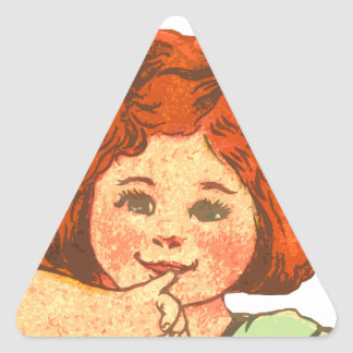 Simple Delights Triangle Stickers