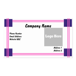 Simple Design Double-Sided Standard Business Cards (Pack Of 100)