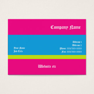 Simple Design Modern Business Cards
