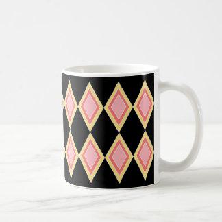 Simple Diamond Design Coffee Mug