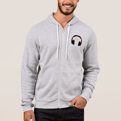 simple dj fashion idea hoodie