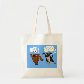 Simple Dog and Helper Dog Bag
