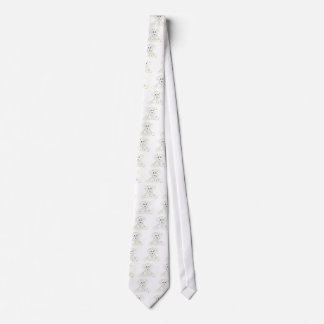 simple dog doodle kids black white dalmatian neck tie