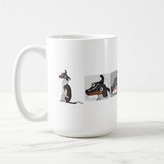 Simple Dog Morphing Mug